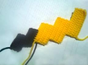 Peluche Pikachu amigurumi | CrochetyAmigurumis.com | 211x288